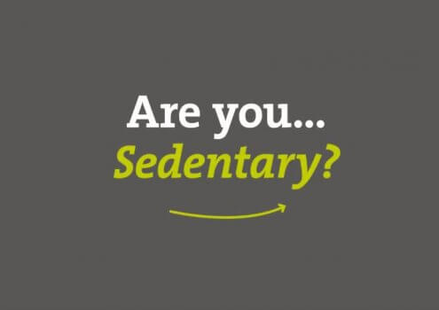 Advice if you are sedentary