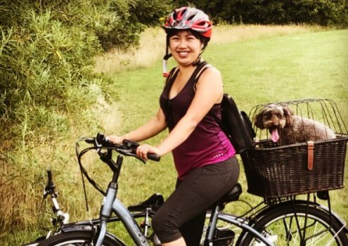 """My e-bike has given me freedom"""